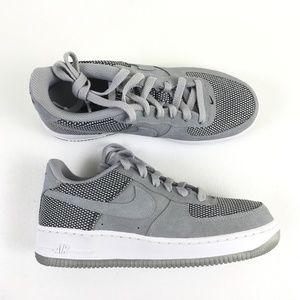 Nike Gray Kids Air Force 1 X215666